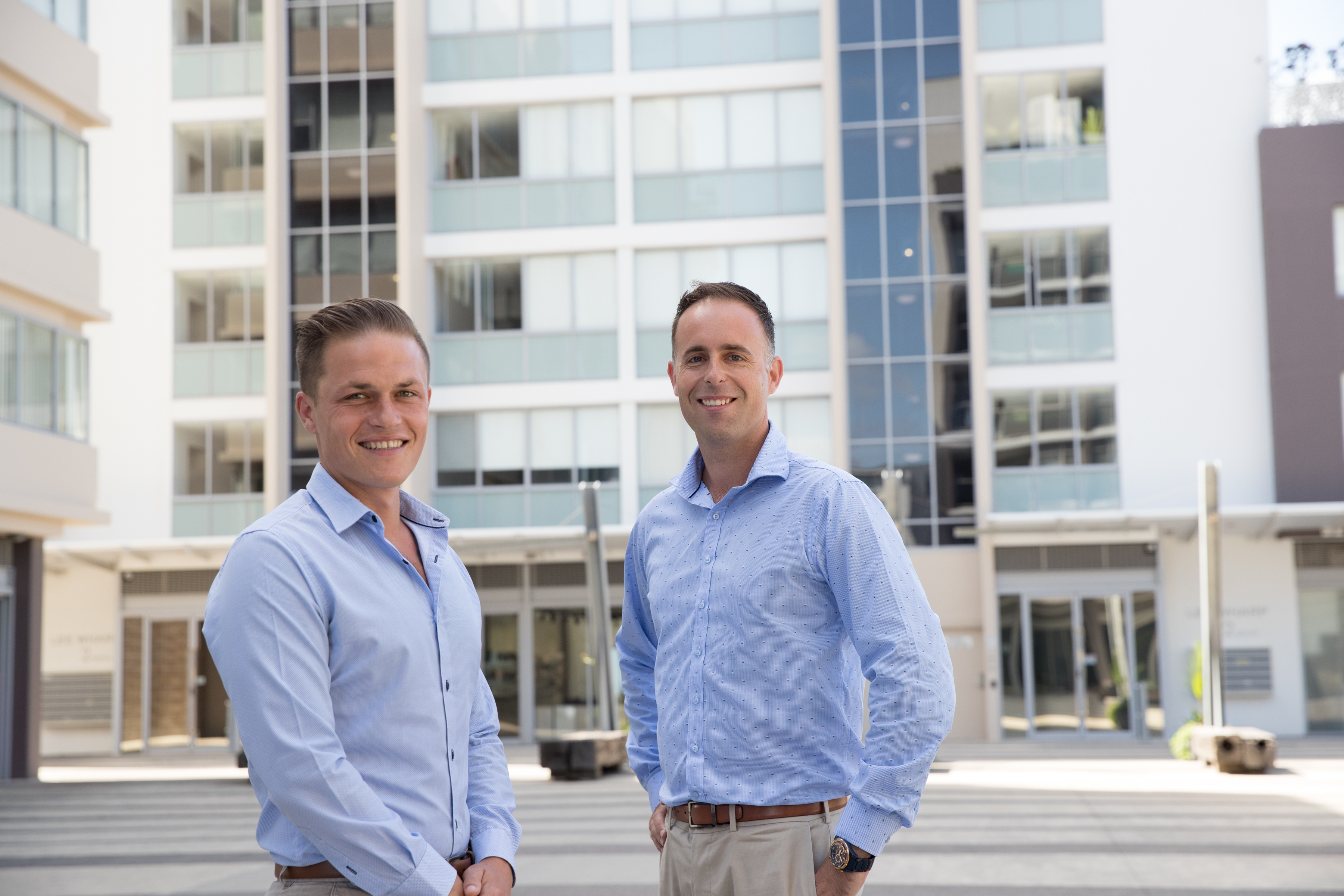Simon Mitrovich Tony Trinder Real Estate Agents