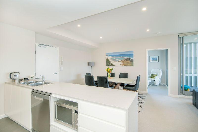 Spire Apartment Complex Kitchen